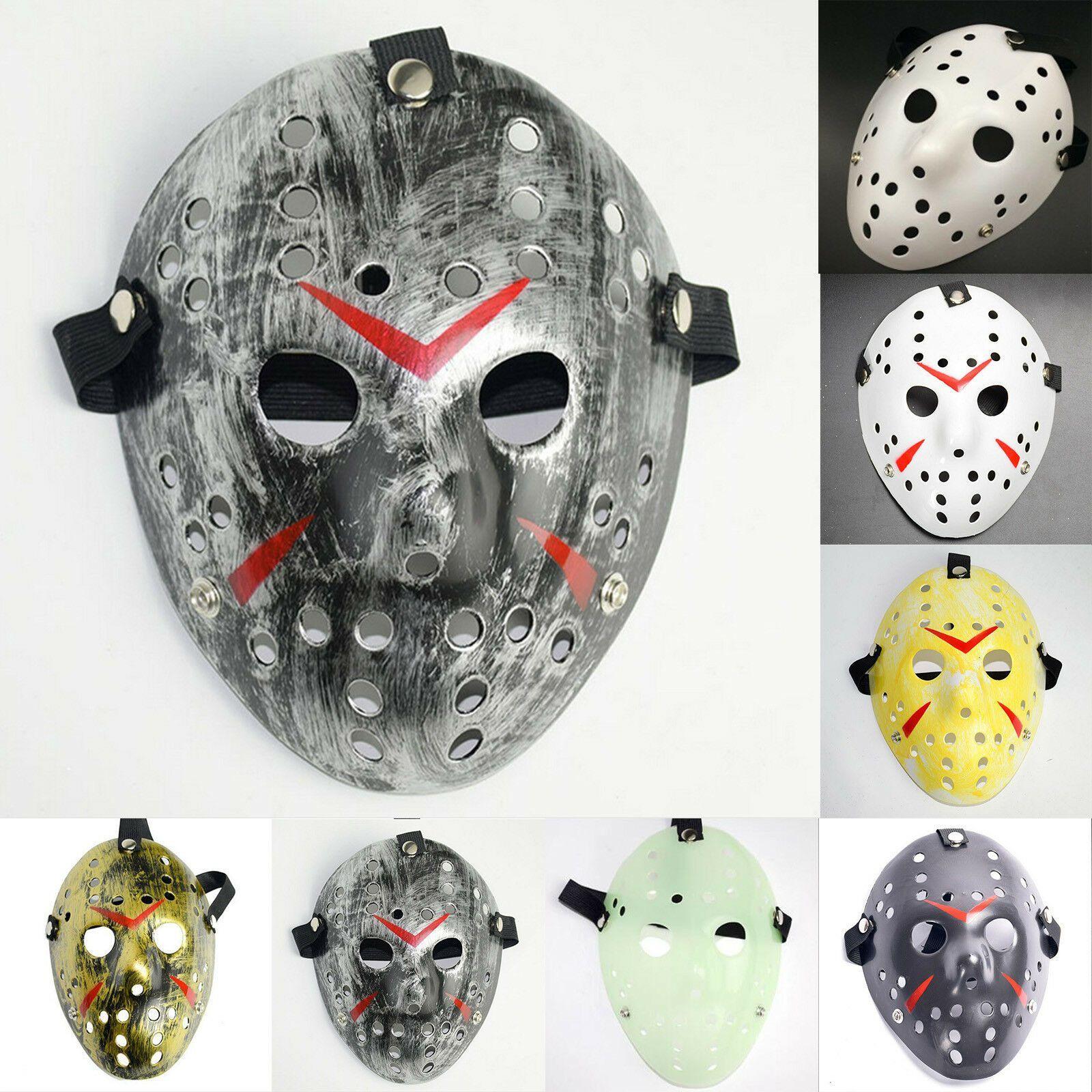 Werbung Halloween Cosplay Maske Freitag Der 13 Jason Voorhees Masken Karneval Kostum Ebay Halloween Gruselige Masken Halloween Party Kostum Party Masken