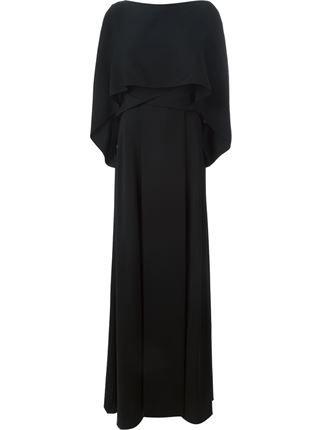 vionnet maxikleid im lagenlook  stefania mode  farfetch  designer abendkleider modestil