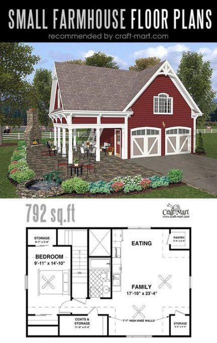 Small farmhouse plans little houses 28+ Ideas for 2019 #farmhouse