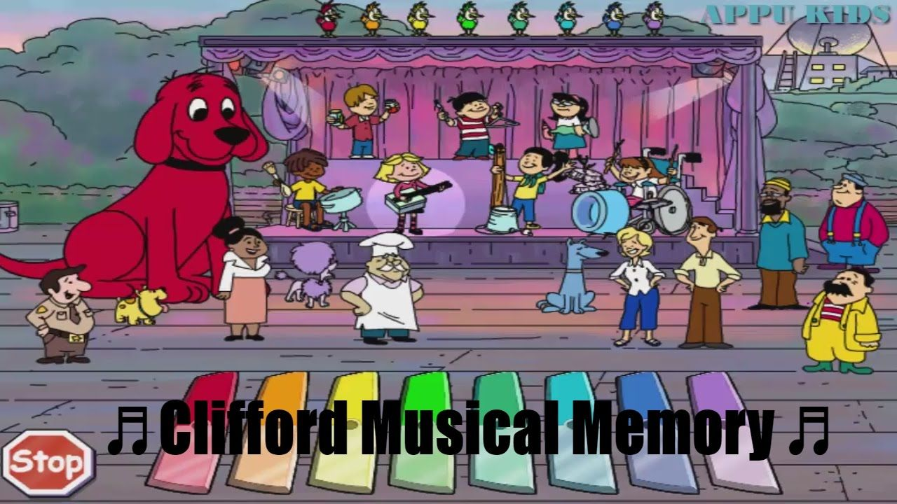 Big Red Dog Clifford full episodes 🎶 Clifford Musical ...
