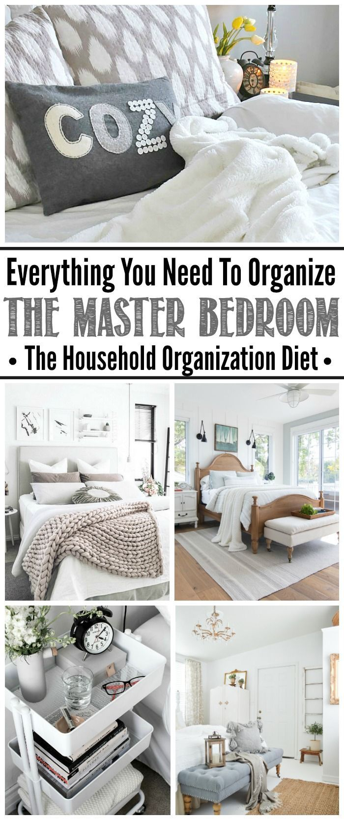 Genial Master Bedroom Organization Ideas. Tips, Tricks, And Tutorials To Create An  Organized And Relaxing Master Bedroom Retreat.
