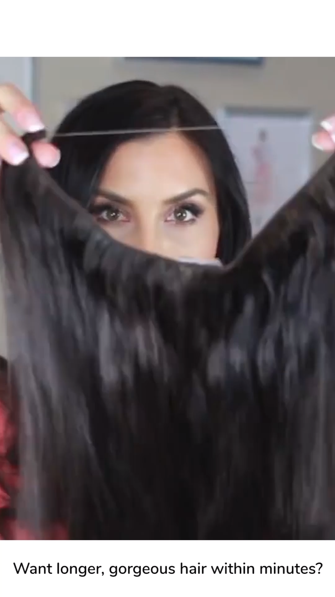 No-Clip Hair Extensions