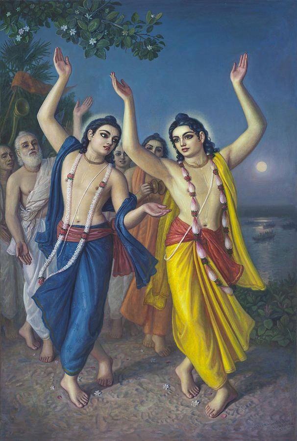 Sri Sri Goura Nitay Greeting Card for Sale by Satchitananda das