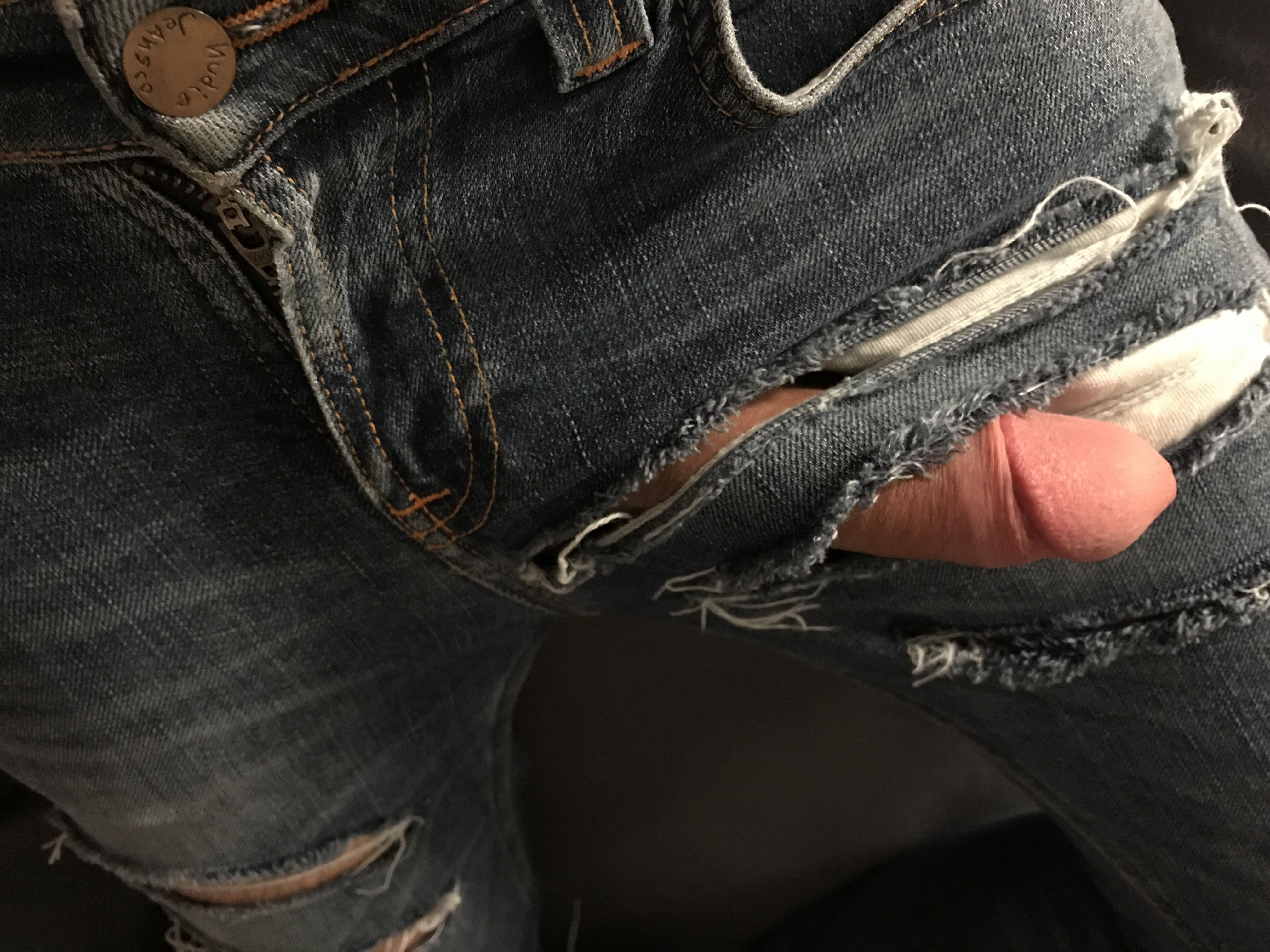 penis jeans