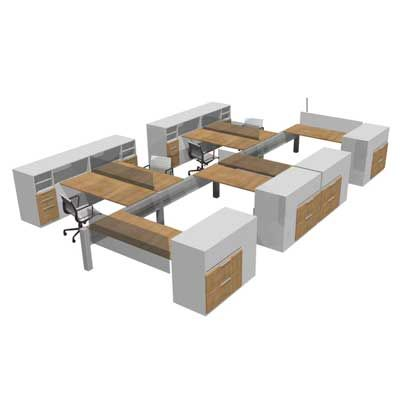 Modular Office Furniture Workstations Cubicles Systems Modern Contemporary