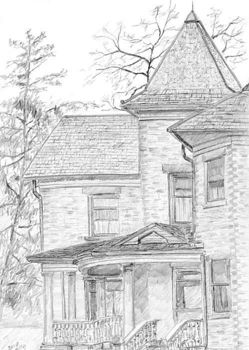 Wheeler Farm House By David King I Spent A Pleasant Saturday Afternoon Sketching This Old On Location At The Historic In Salt