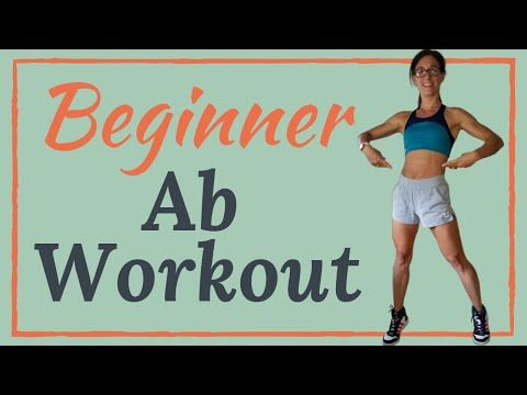 beginner abs workout no equipment home workout  youtube