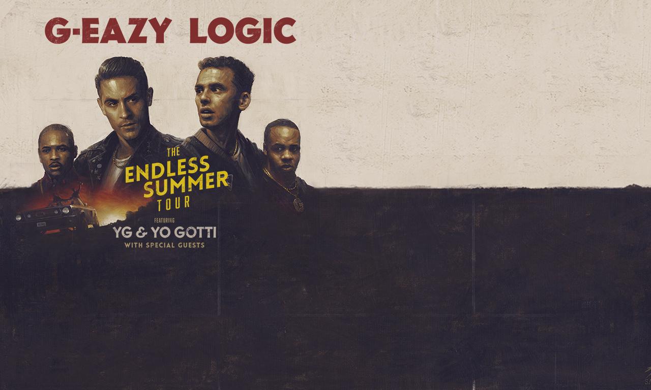 G Eazy Logic The Endless Summer Tour Fri Jul 29 2016 630 Pm