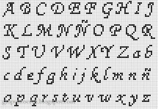 ponto cruz pequenos graficos - Buscar con Google   patrones punto de ...