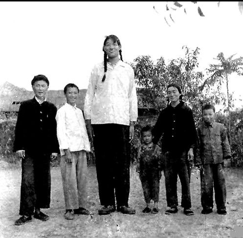 Tallest female ever : Zeng Jinlian