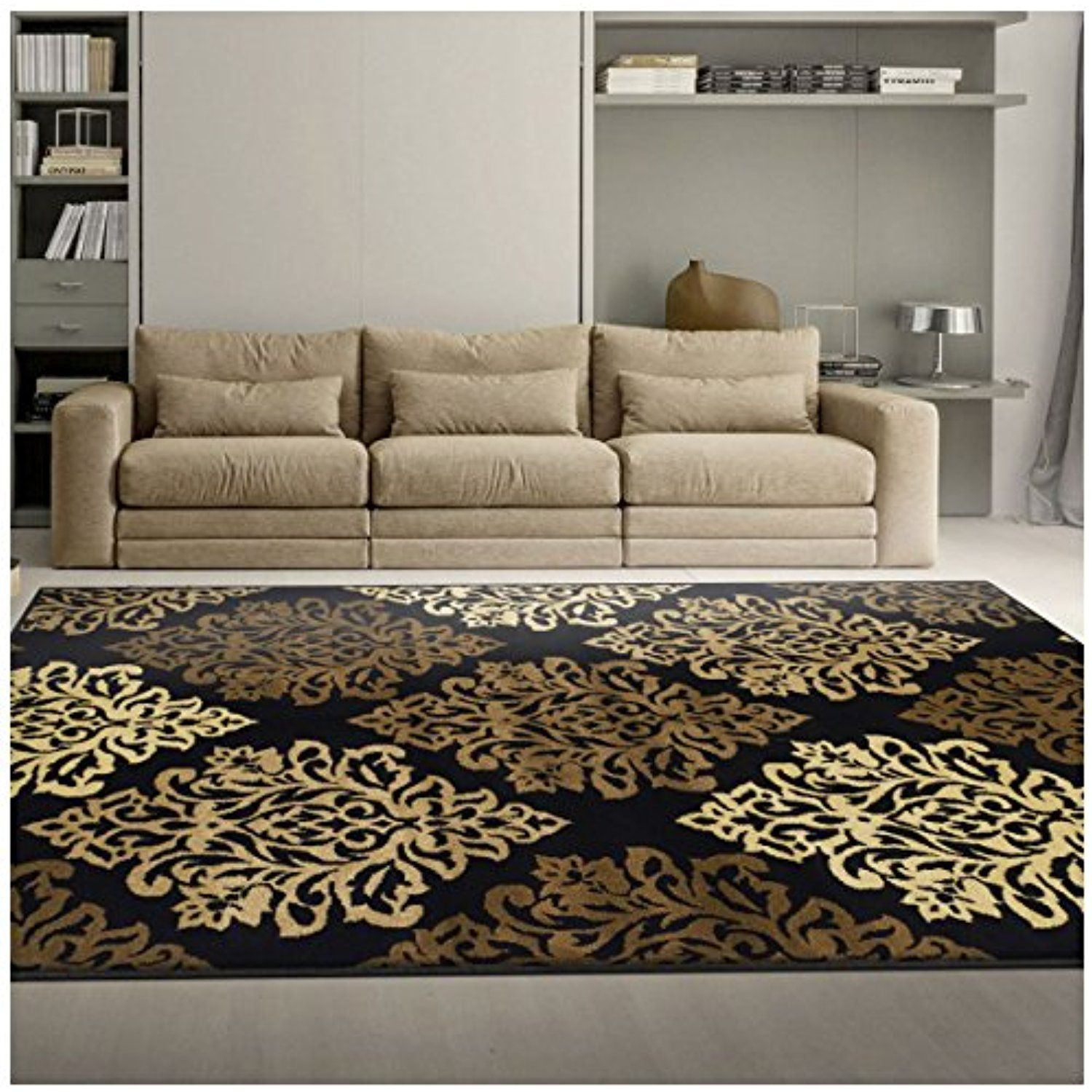 World Of Architecture 16 Simple Elegant And Affordable: Superior Danvers Collection Area Rug, Modern Elegant