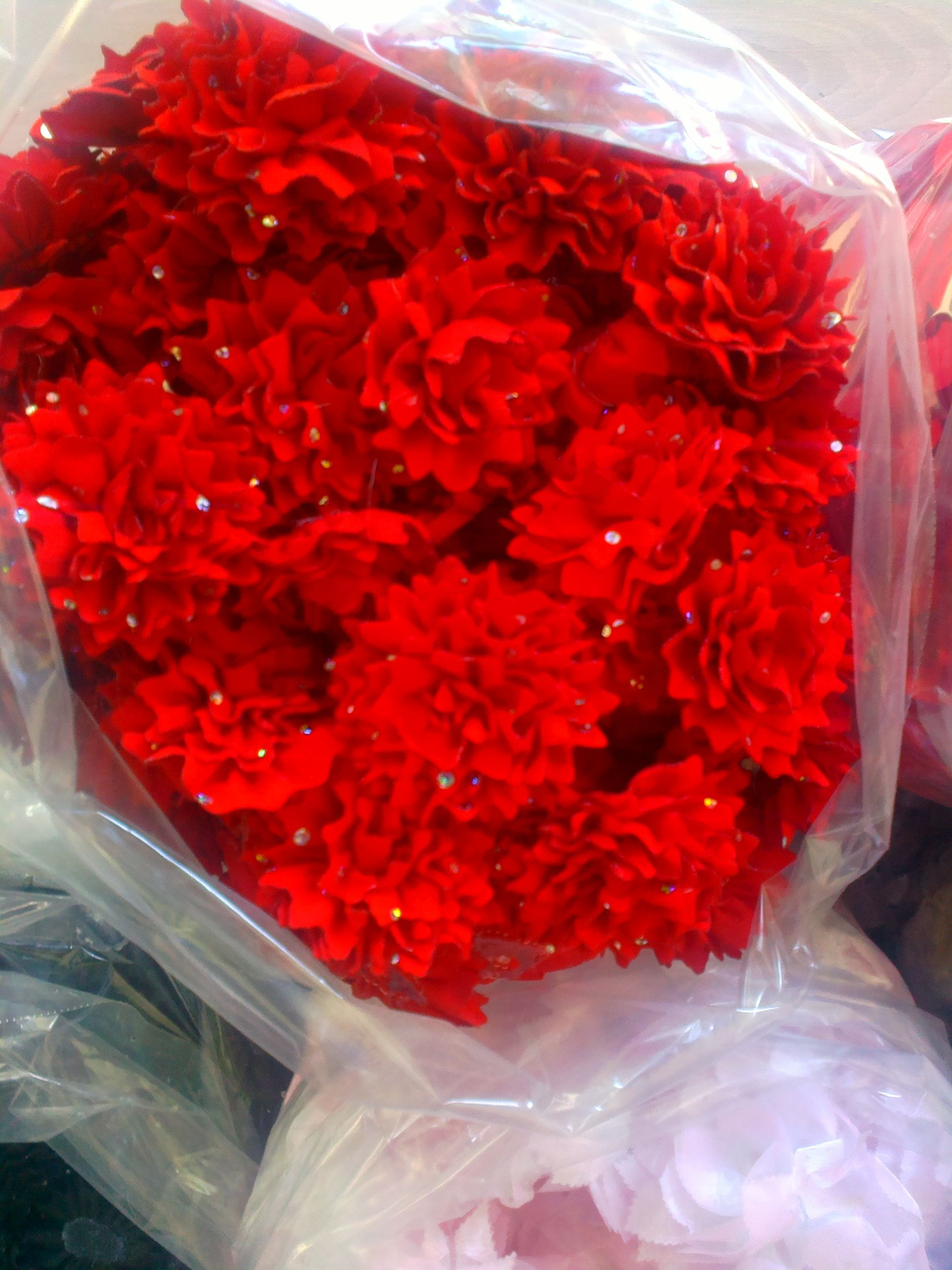 Photo of Children's dress accessories flower evening dress flowers ma…