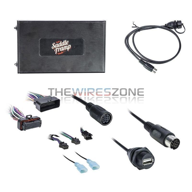 Metra Bt Hd01 Bluetooth Audio Interface For Select 2006 13 Harley Davidson Radio Bluetooth Audio Metra Bluetooth Adapter