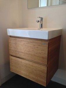 Bamboe badkamer meubels | Badkamer | Pinterest