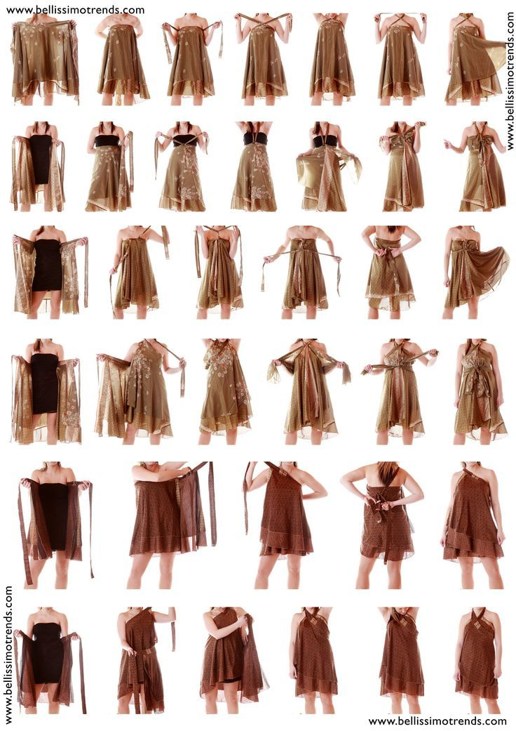 how to wrap skirt instructions