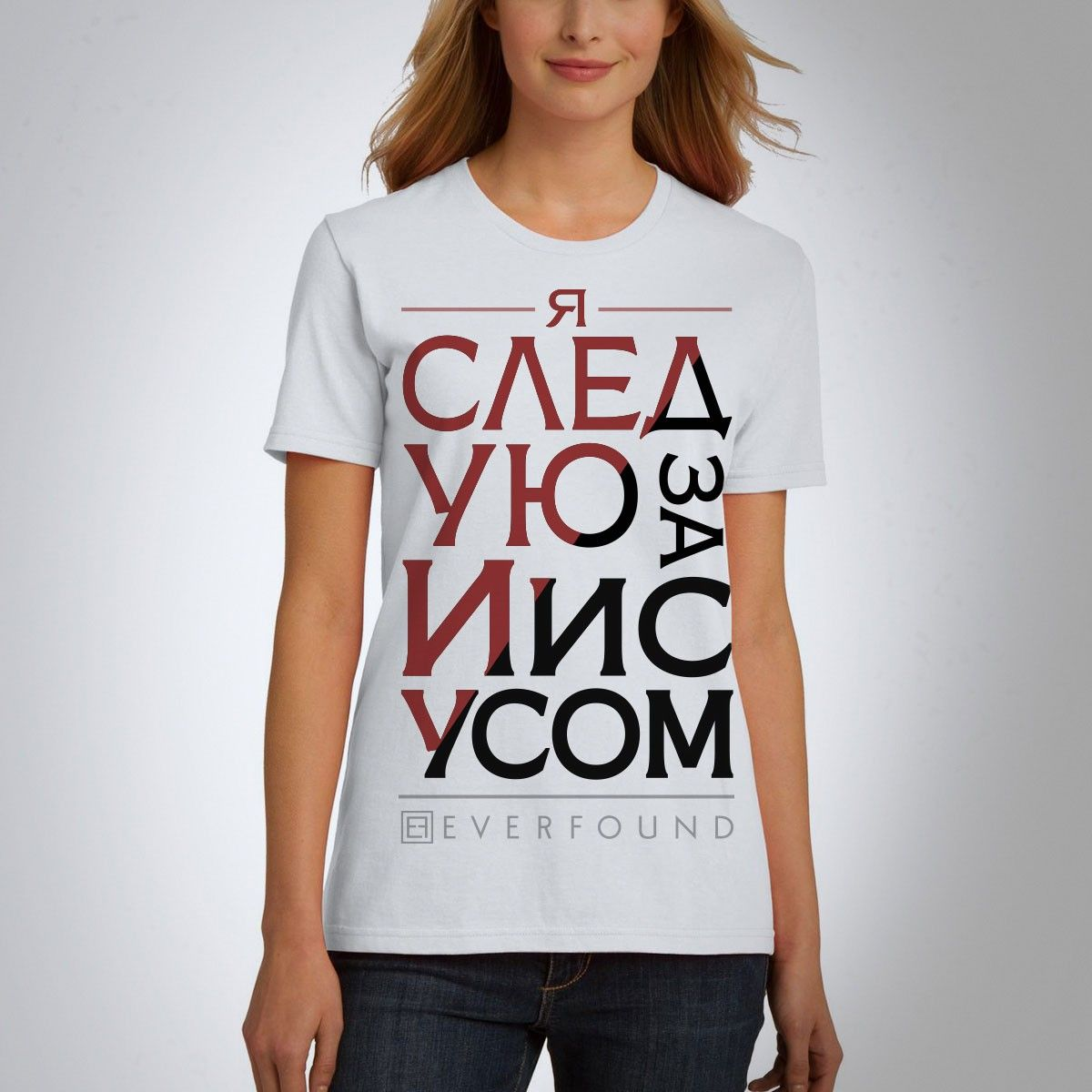 Check out I Follow Jesus T-Shirt from Everfound at the Warner Music Store!