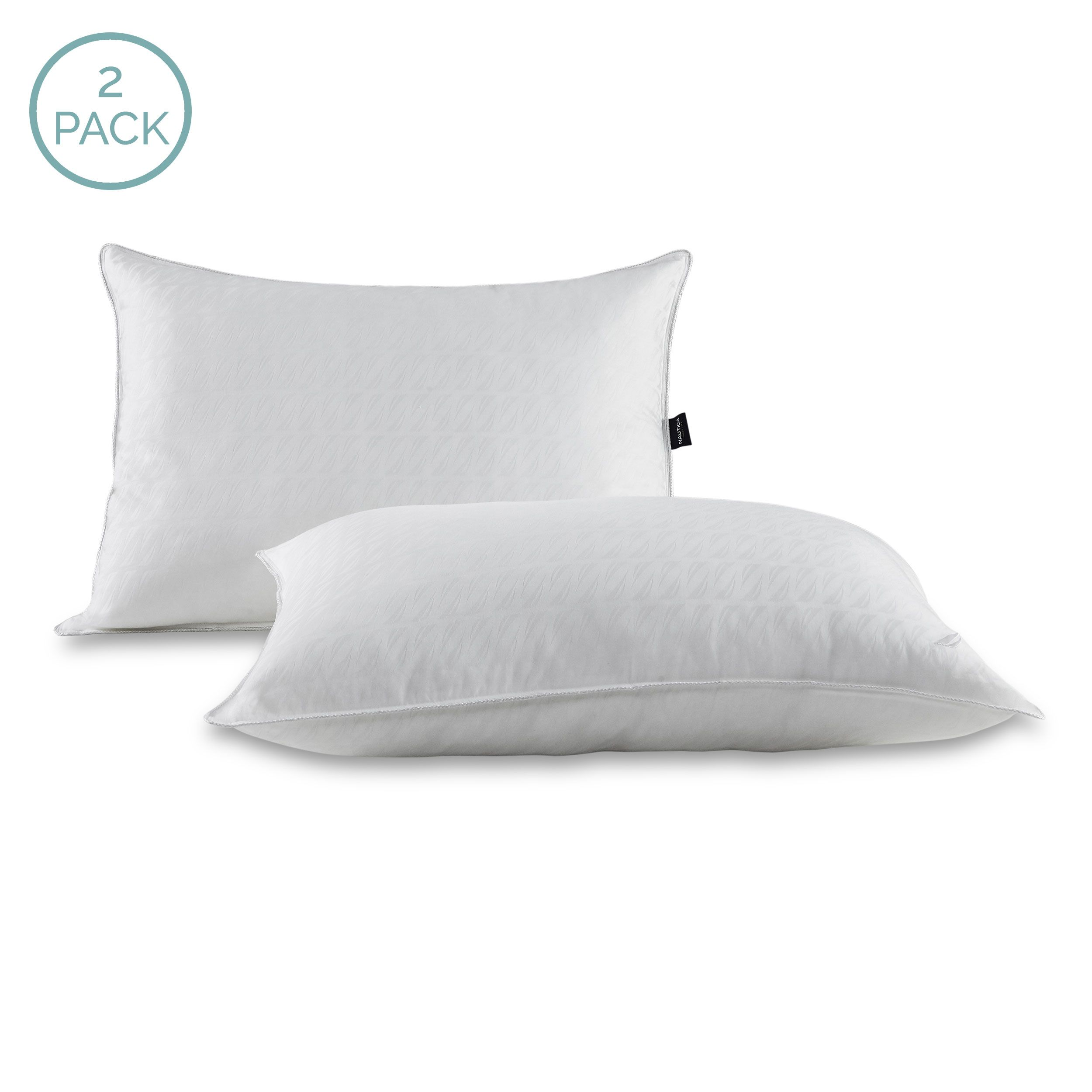 Nautica Down Alternative Pillow 2 Pack Pillows Bed Pillows Sleeping Positions