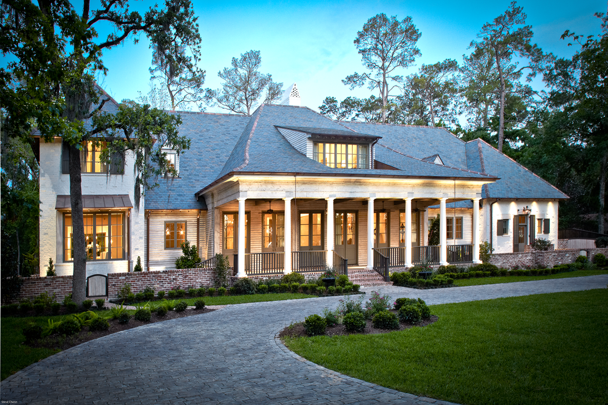 Acadian style homes for Modern southern homes