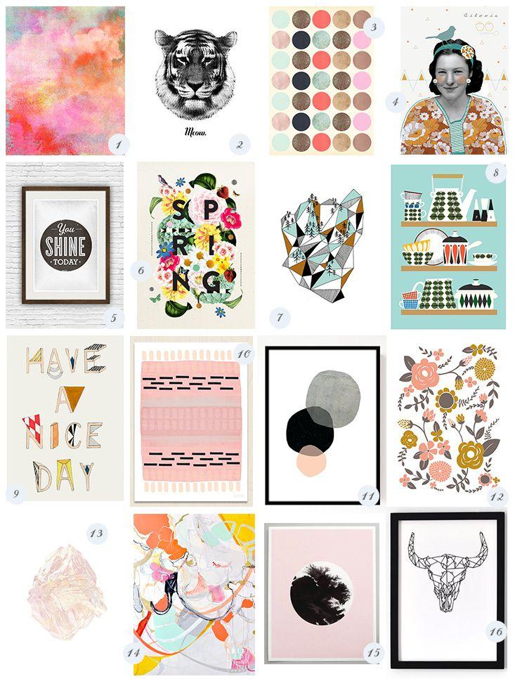 Sélection // Se Taper L'Affiche | Illustrations, Decoration And