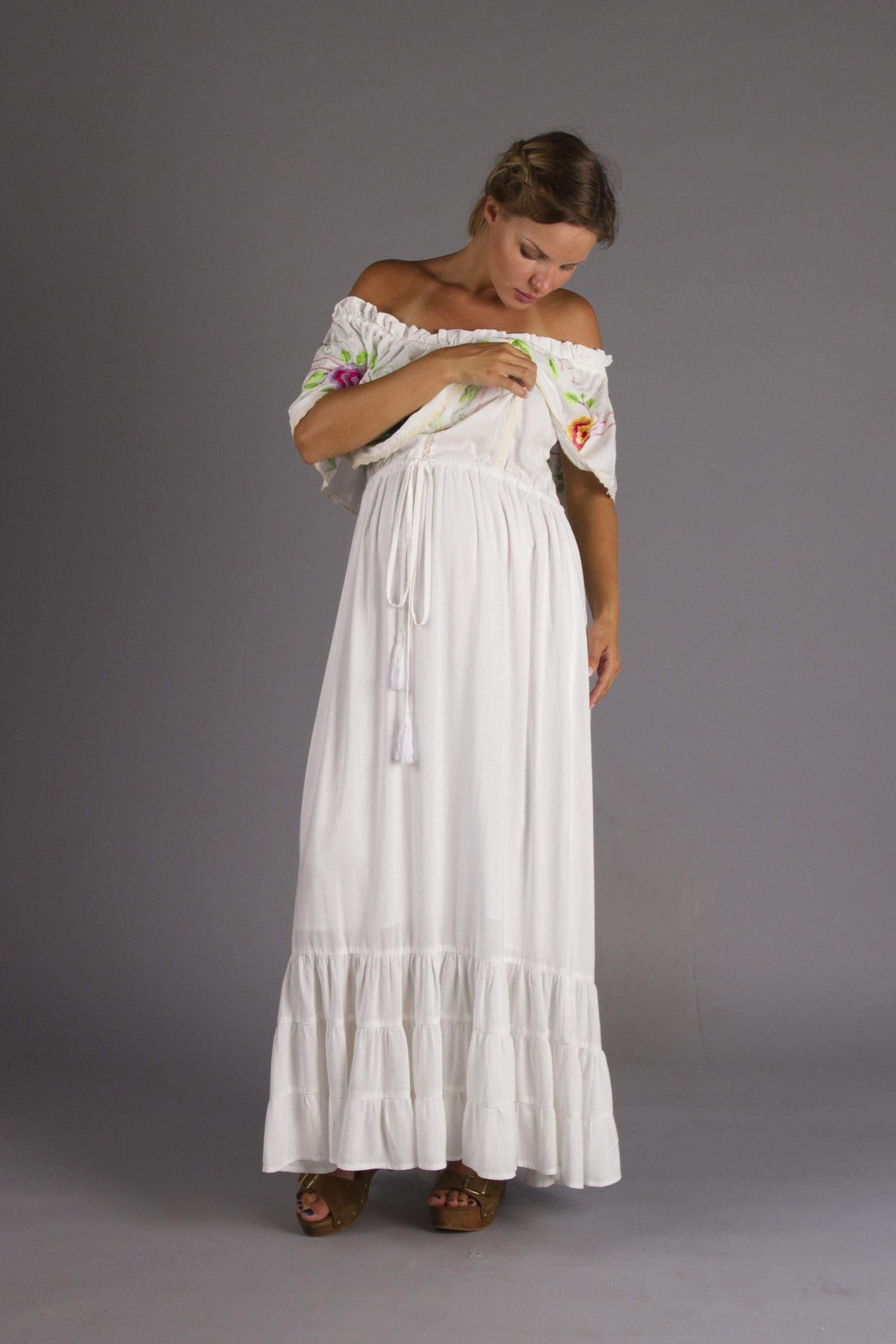 Seeker lover keeper nursing dress embroidered nursing maxi dress seeker lover keeper nursing dress embroidered nursing maxi dress fillyboo boho inspired maternity ombrellifo Image collections