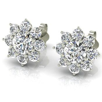 Unique Margarita Diamond Stud Earrings Check More At Http Lascrer