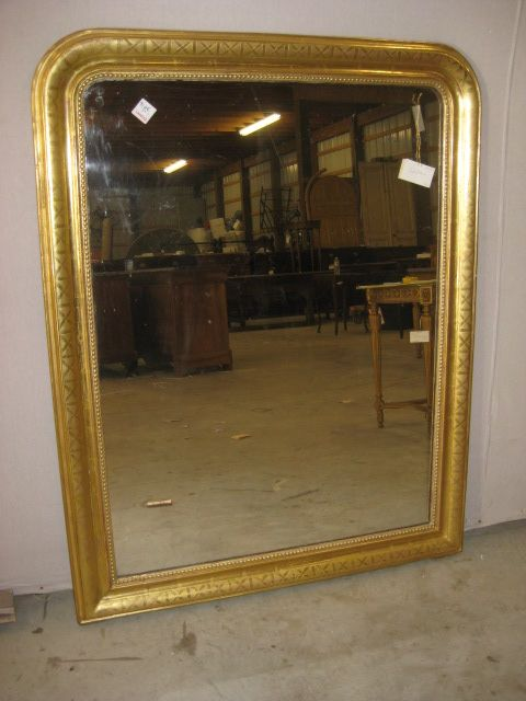 Gold Louis Philippe Mirror 55x44 Mirrors For Sale Trumeau