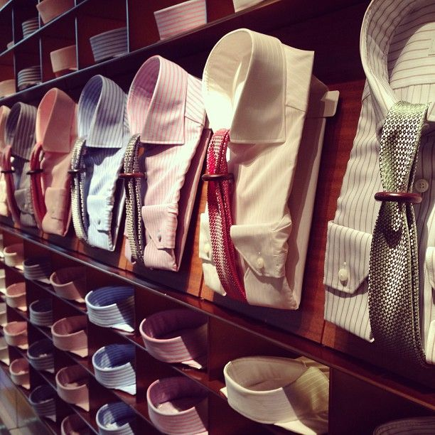 Shirts And Ties From Ermenegildo Zegna At Our Flagship