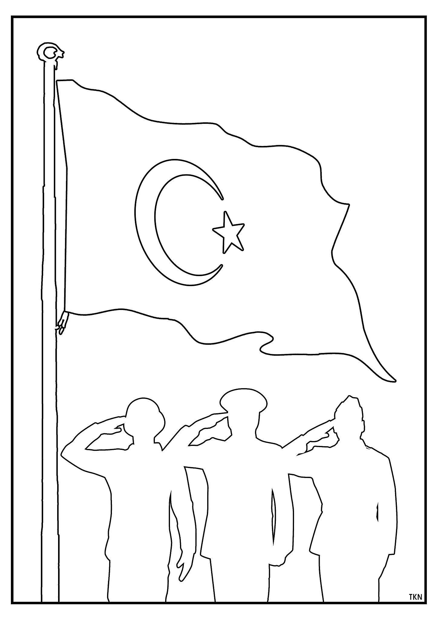Tamarisk Adli Kullanicinin 19 Mayis Ataturk U Anma Genclik Ve Spor Bayrami Panosundaki Pin Boyama Sayfalari Optik Illuzyon Sanati Ortaokul Sanati
