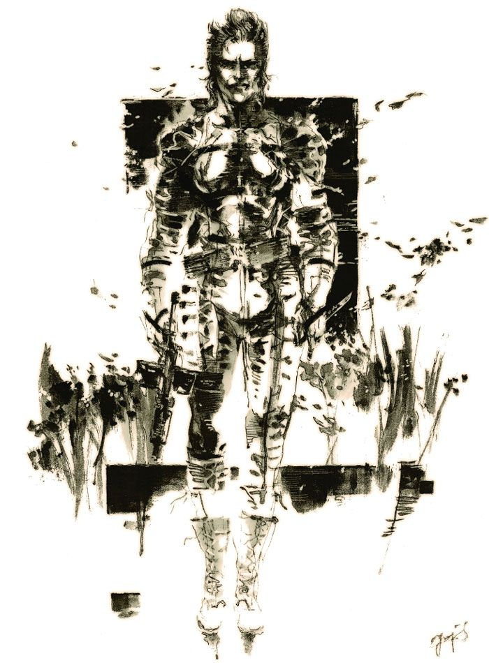 The Boss Pictures Characters Art Metal Gear Solid 3