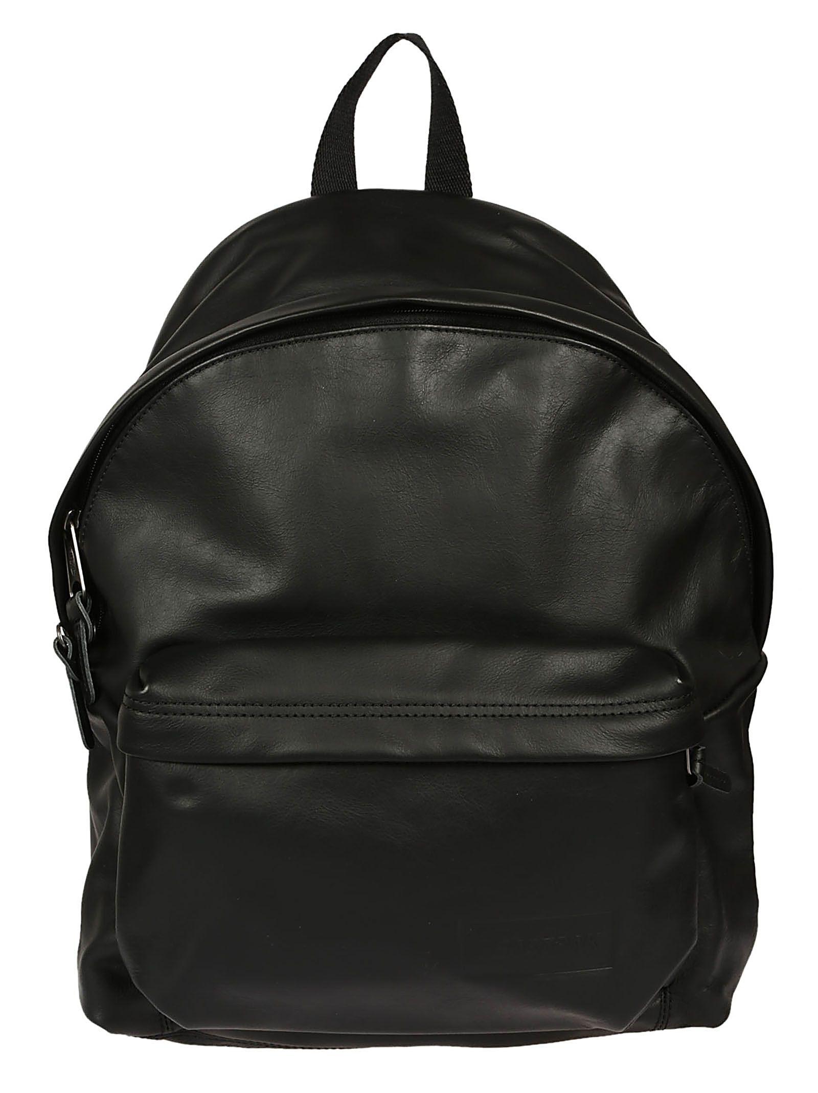 EASTPAK EASTPAK MEN S BLACK LEATHER BACKPACK.  eastpak  bags  leather   backpacks