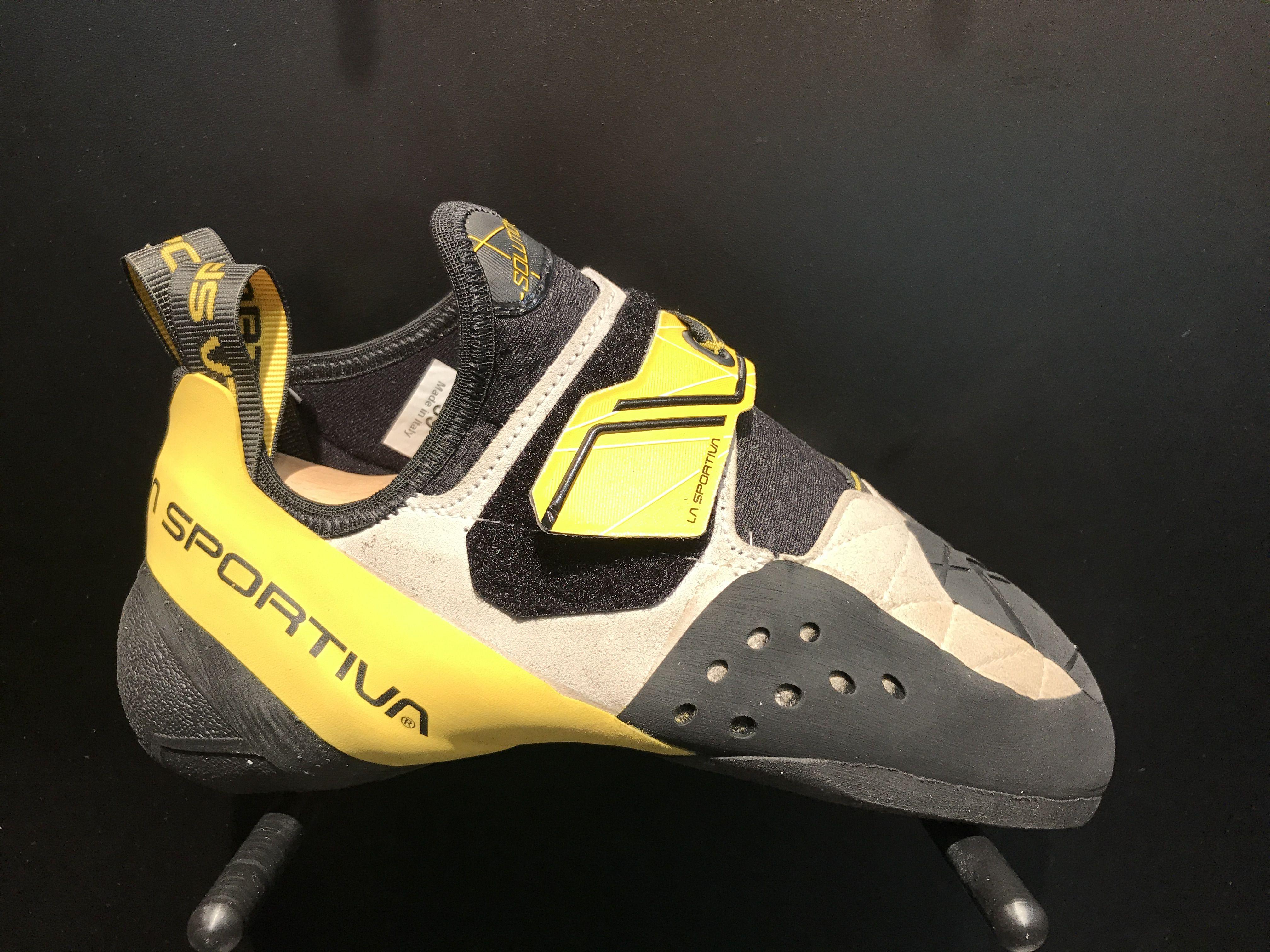 ba79dd93fd La Sportiva s re-design of their best seller Solution Men. Coming spring  2018 to Casper s Climbing Shop