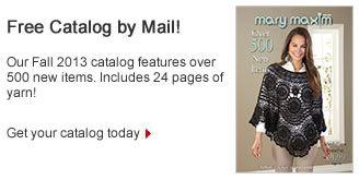 Mary Maxim Catalog Request Bead Crafts Plastic Canvas Knit Crochet Filet