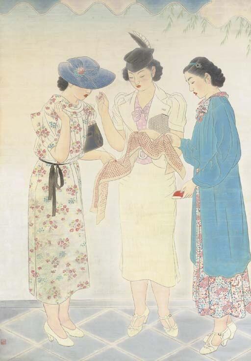 榎本 千花俊 Enomoto Chikatoshi  (1898–1973)