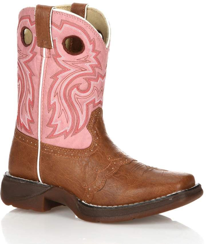 8ef750aedb0c Durango Lil Girls  8-in. Saddle Western Boots