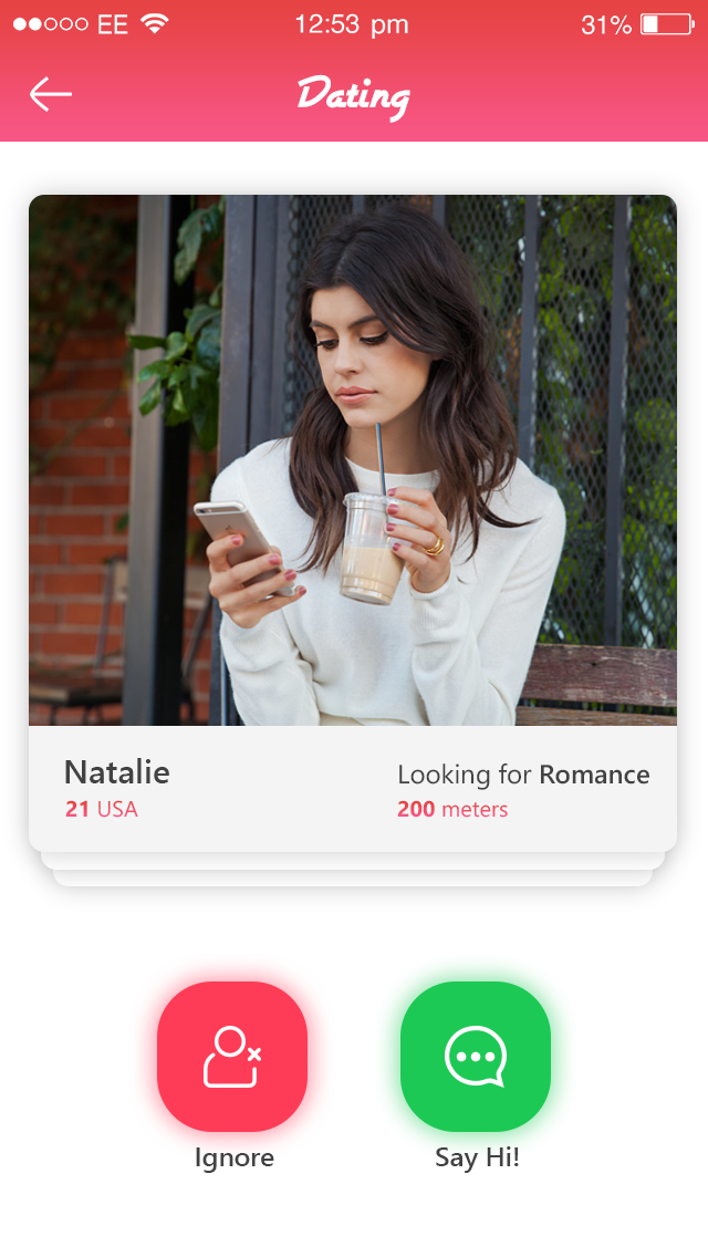 say hi online dating