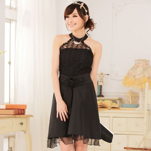 evening black dress wholesale for asian fashion k9114 - $14.67 ...