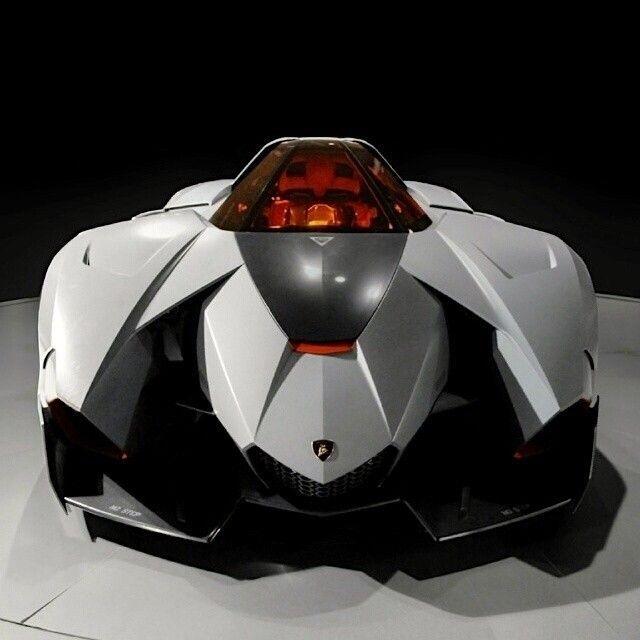 Lamborghini Egoista Inside: Lamborghini Egoista Aka Bat Mobile