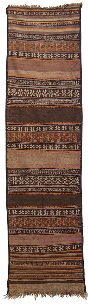 253x67 cm orient Teppich Afghanistan Nomaden kelim afghan sar-i-pul  kilim No:21