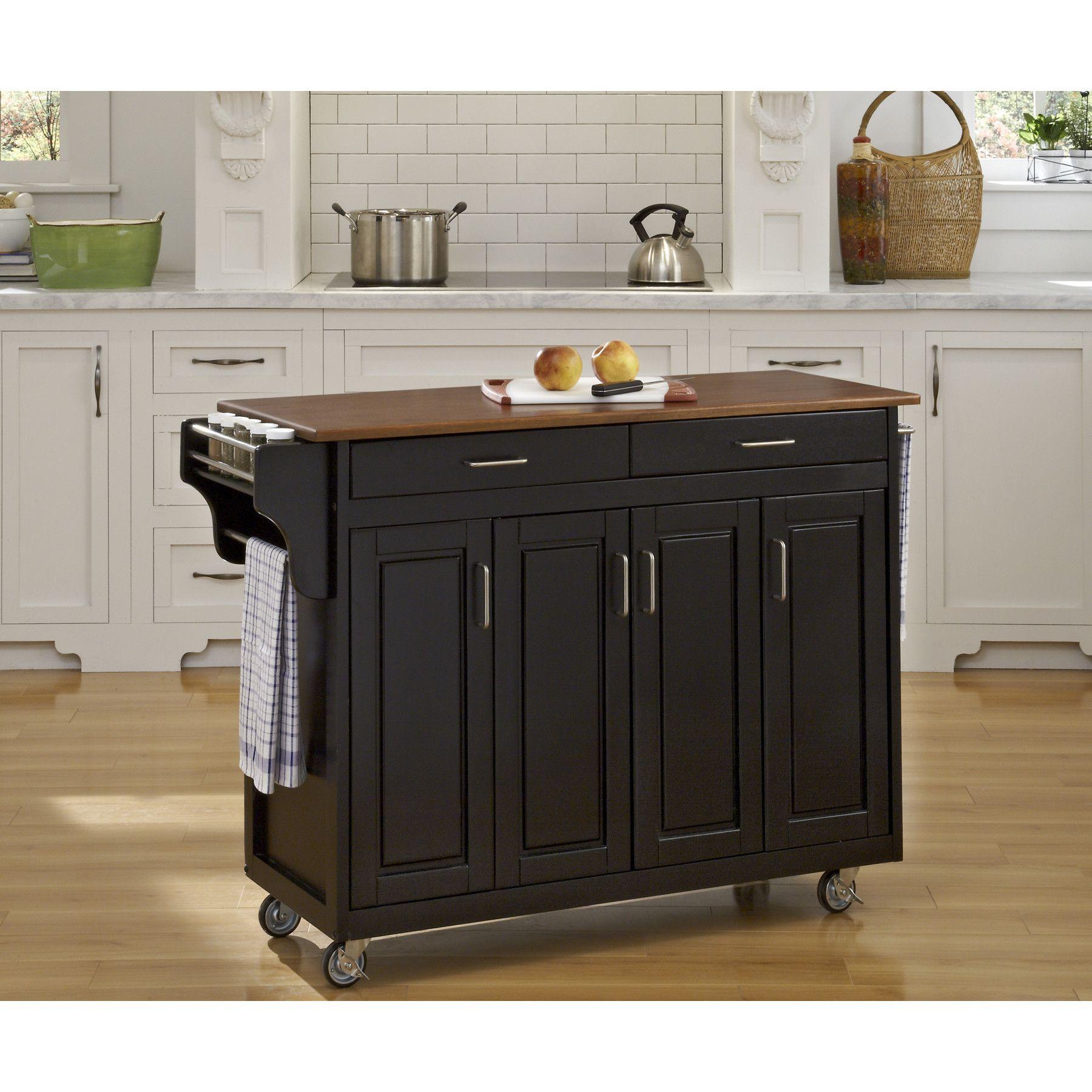 Regiene Kitchen Island Kitchen Island On Wheels Kitchen Island With Granite Top Kitchen Cart