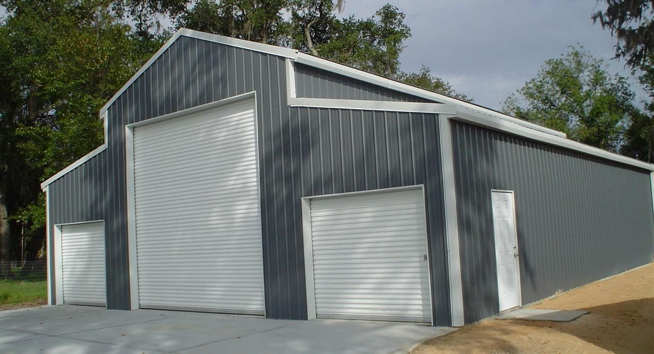 Steel Garages And Sheds For Sale: American Barn Steel Buildings For Sale