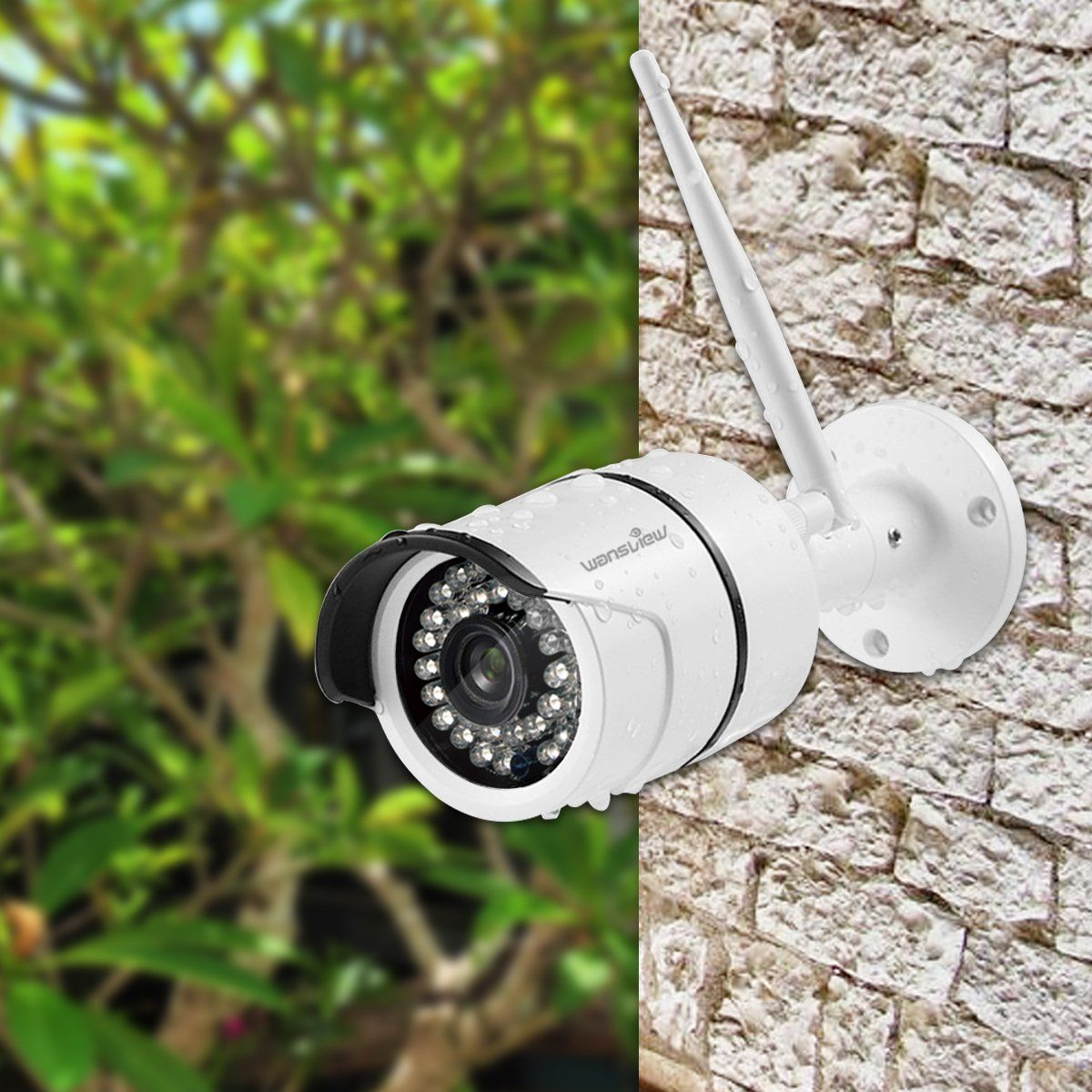 1080P Outdoor WiFi IP Surveillance Bullet Wansview Wireless Security Camera