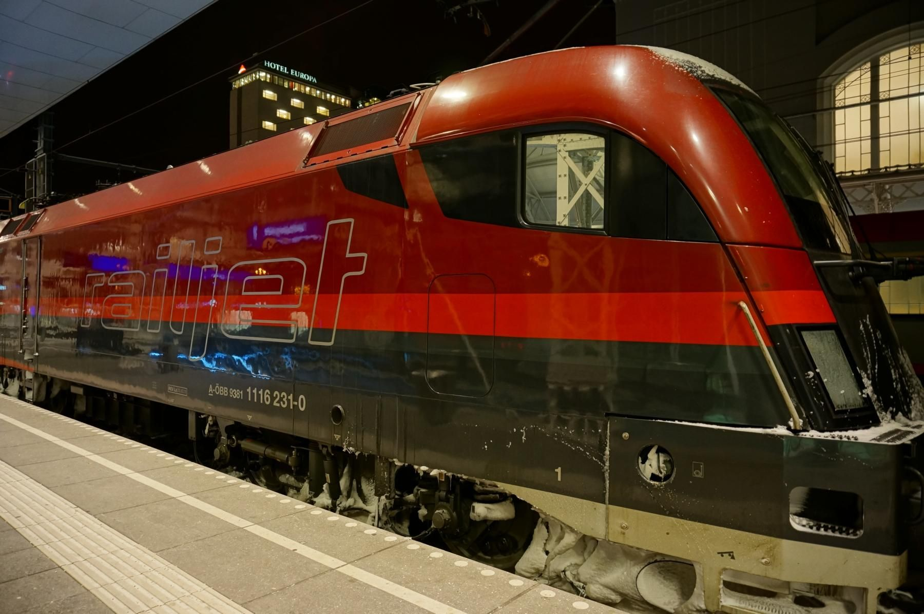 Switzerland High Speed Train - HDR Editorial Stock Photo