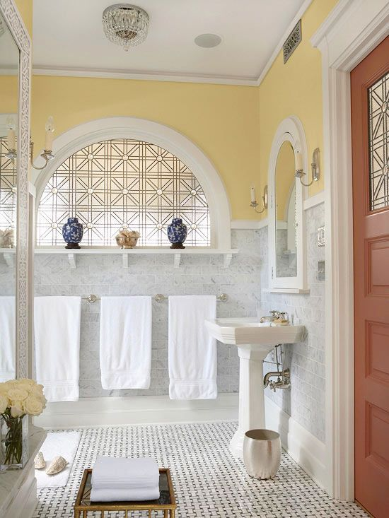 Window Seat Design Ideas Yellow Bathrooms Bathroom Decor