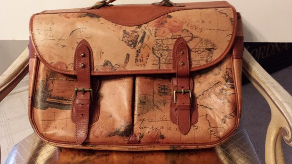 Vintage Leather Satchel with Old World Map Design by ... on map shoes, map luggage, map boots, map crossbody, map skirt, map phone case, map jacket, map scarf, map white, map trunk, map suitcase, map wallet, map sweater,