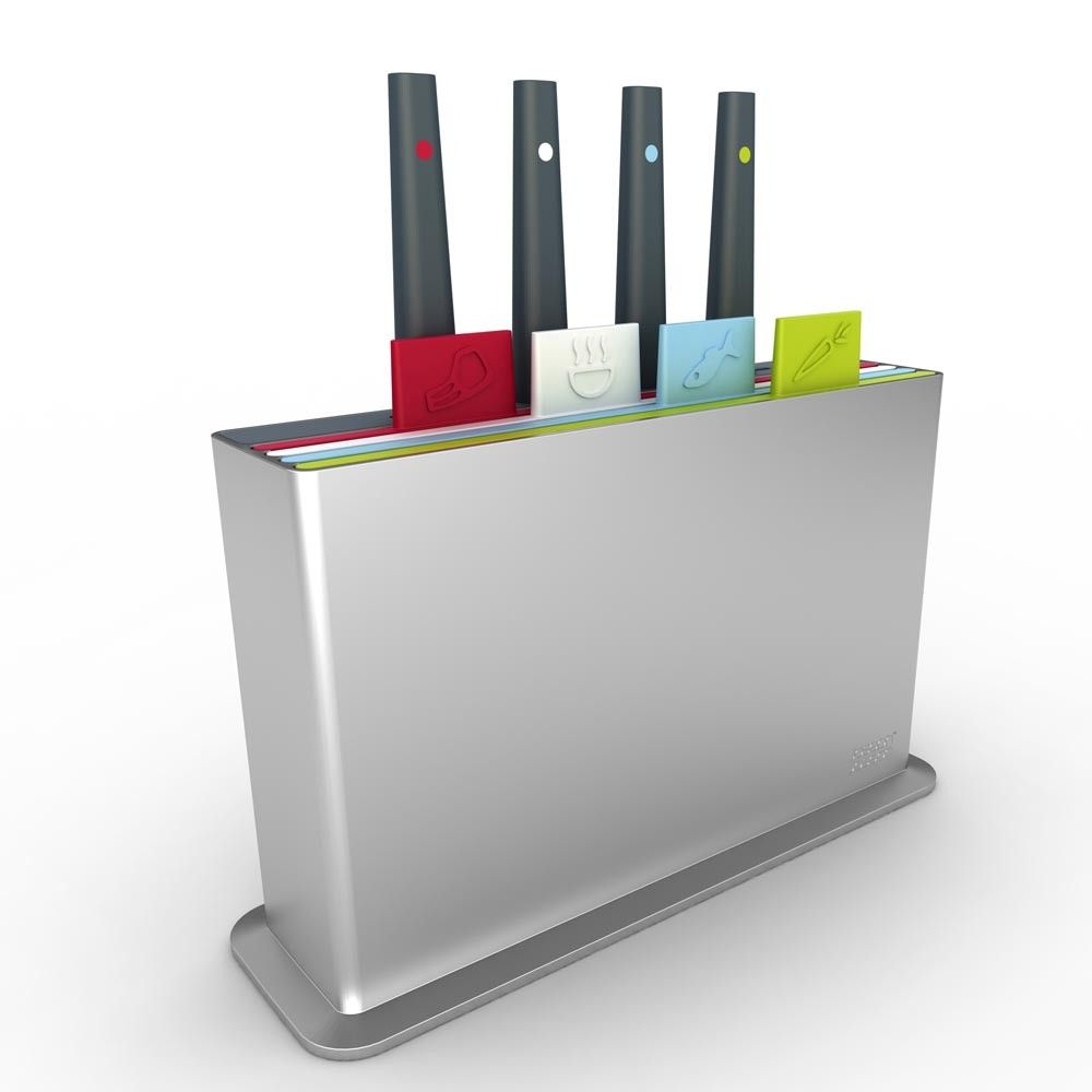 Index Plus Knife and Chopping Board Set from Joseph Joseph | Things ...