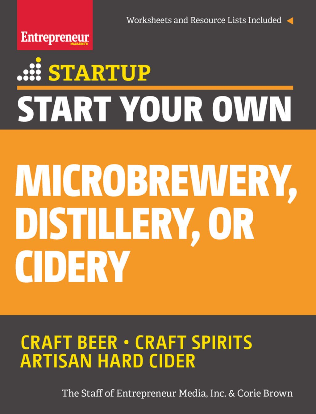 Start Your Own Microbrewery Distillery or Cidery (eBook