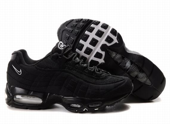 pretty nice 251d5 d4332 Cheap Men s Nike Air Max 95 Shoes All Black 95 Shoes For Sale from official  Nike Shop.