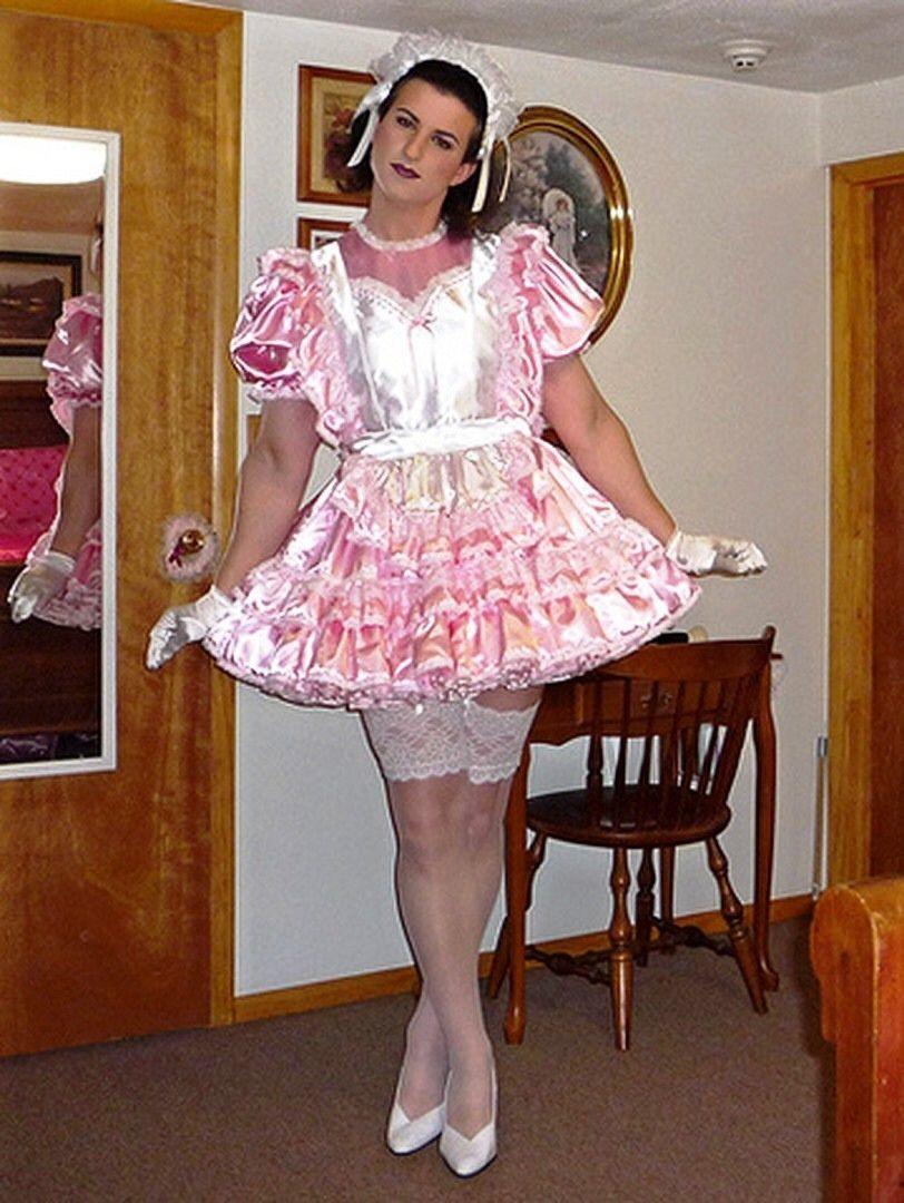 Frilly Sissy Tumblr for tumblr   christine bellejolais   pinterest   satin