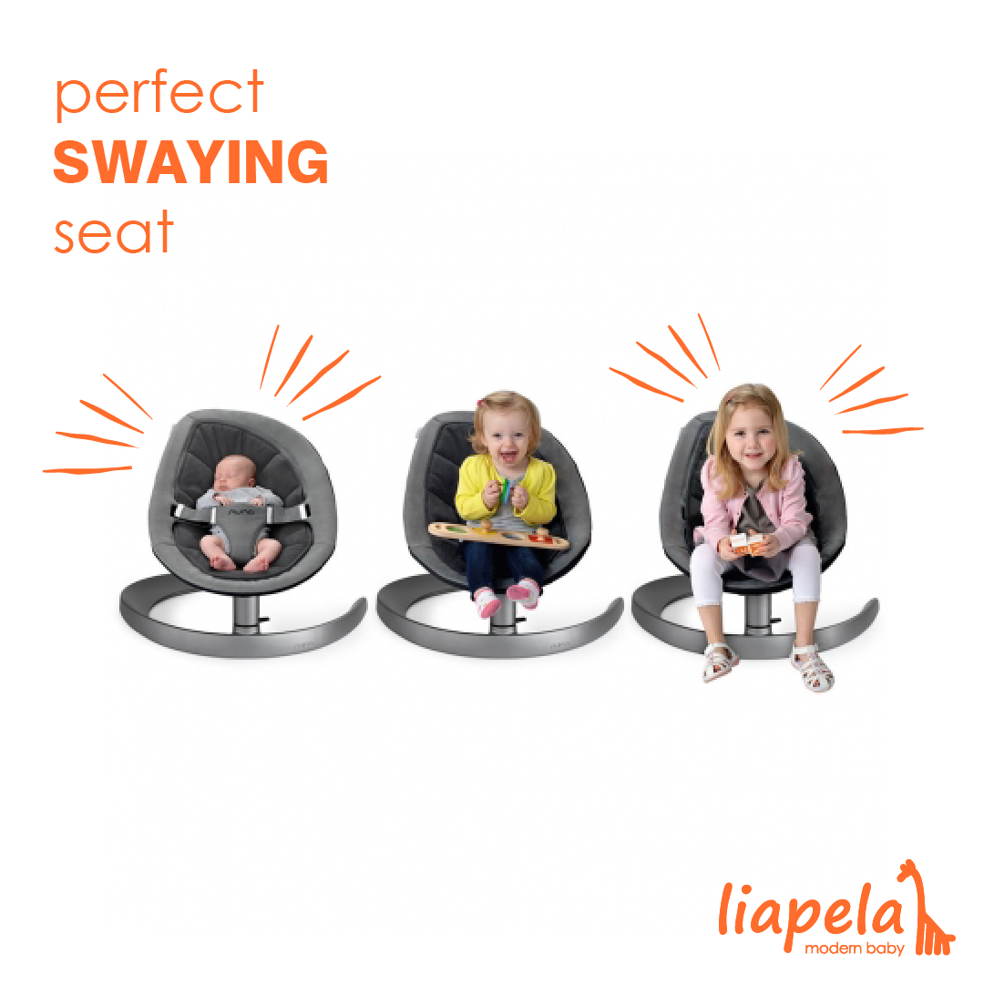 The modern, ecosmart swaying seat for your baby! The Leaf