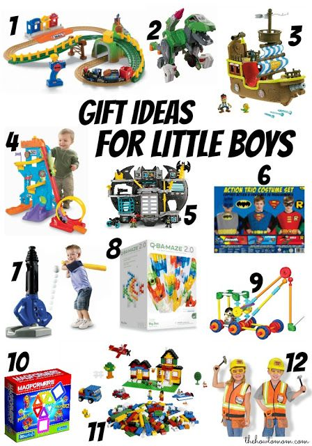 Gift Ideas for Little Boys (ages 3-6) | Diy christmas ...